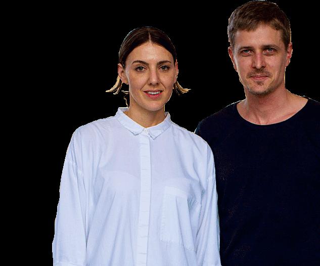 Kate and Joel Booy
