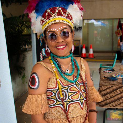 Virtual Multicultural Tile - Polynesian Dance