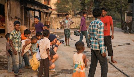 Photography students in Bangladesh