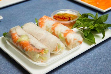 Noodle house rice paper rolls