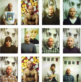 Untitled self portraits