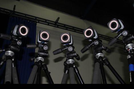 Stop motion cameras