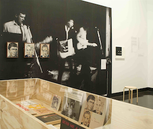 Melbourne Brisbane, Punk, Art and After, The Ian Potter Museum of Art, Melbourne, 2010, partial view. Photo by Viki Petherbridge.