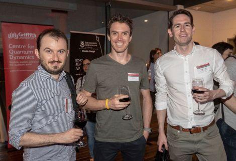 Nathan Walk, Glen Harris and Matt Woolley