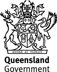 Queensland state government logo