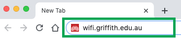 Go to Wi-Fi web address
