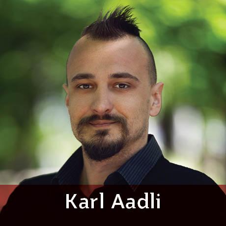 Karl Aadli featured blogger