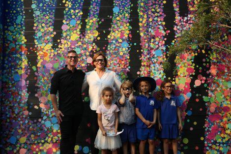 Dutton Park Mural Opening