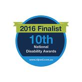 2016 Finalist - national disability awards