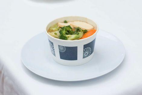 Noodle house tofu veggie soup