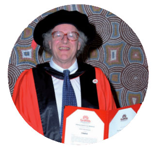 Photo of Professor Emeritus Colin Mackerras