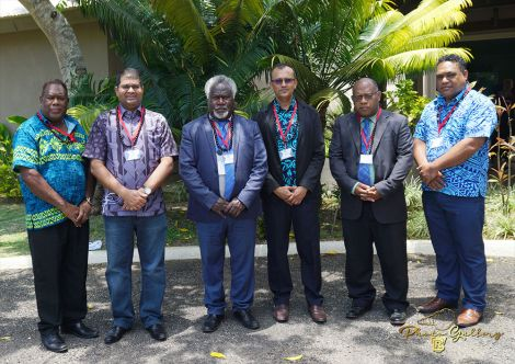 South Pacific Bank Governors
