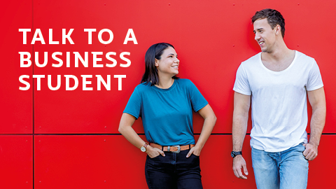 Talk to a business student