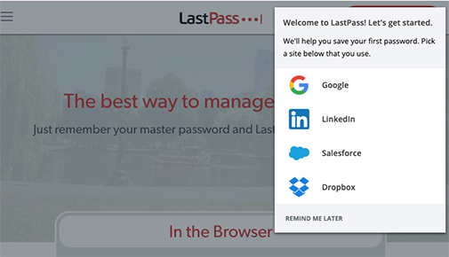 Welcome to LastPass