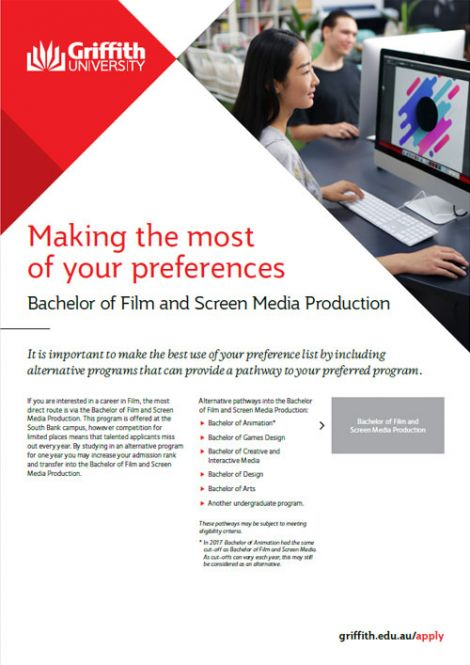 film and screen production factsheet