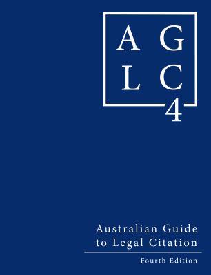 AGLC 4 book cover