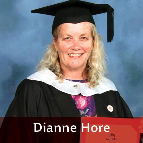 Dianne Hore featured author