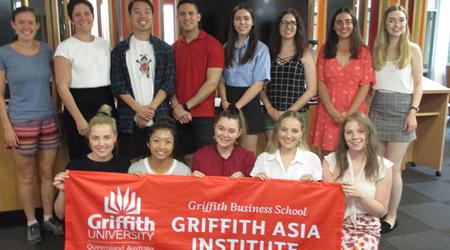Global internships group photo