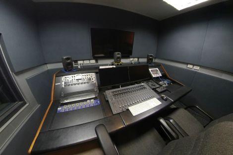 Sound recording room