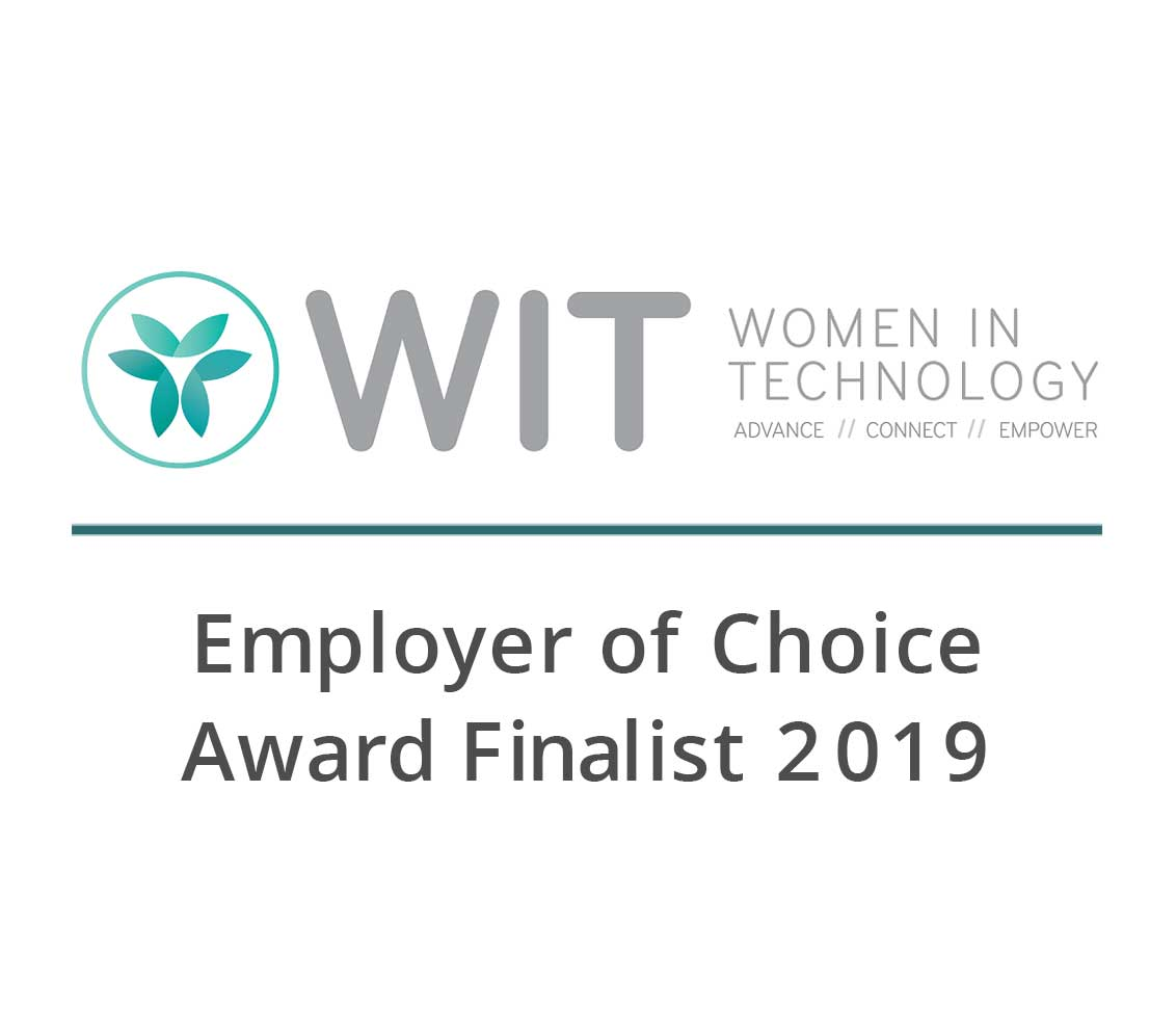 Women in Technology - Employer of Choice award finalist 2019