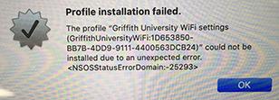 Mac error -25293